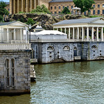 Schuylkill River, Water Works & Philadelphia Art Museum