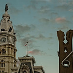 Philadelphia City Hall, Oldenburg's Clothes Pin