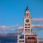 Philadelphia Inquirer Building, Pastel Sky