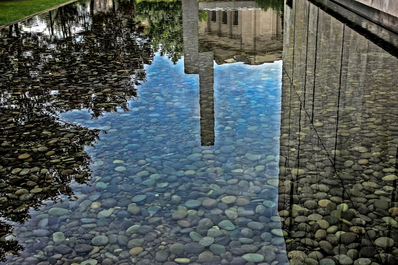 Reflecting Pool, The Barnes Foundation