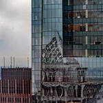 Comcast Center, Two Liberty Place Reflected
