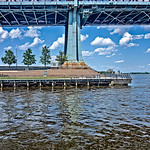 Ben Franklin Bridge, Six Trees, Delaware River
