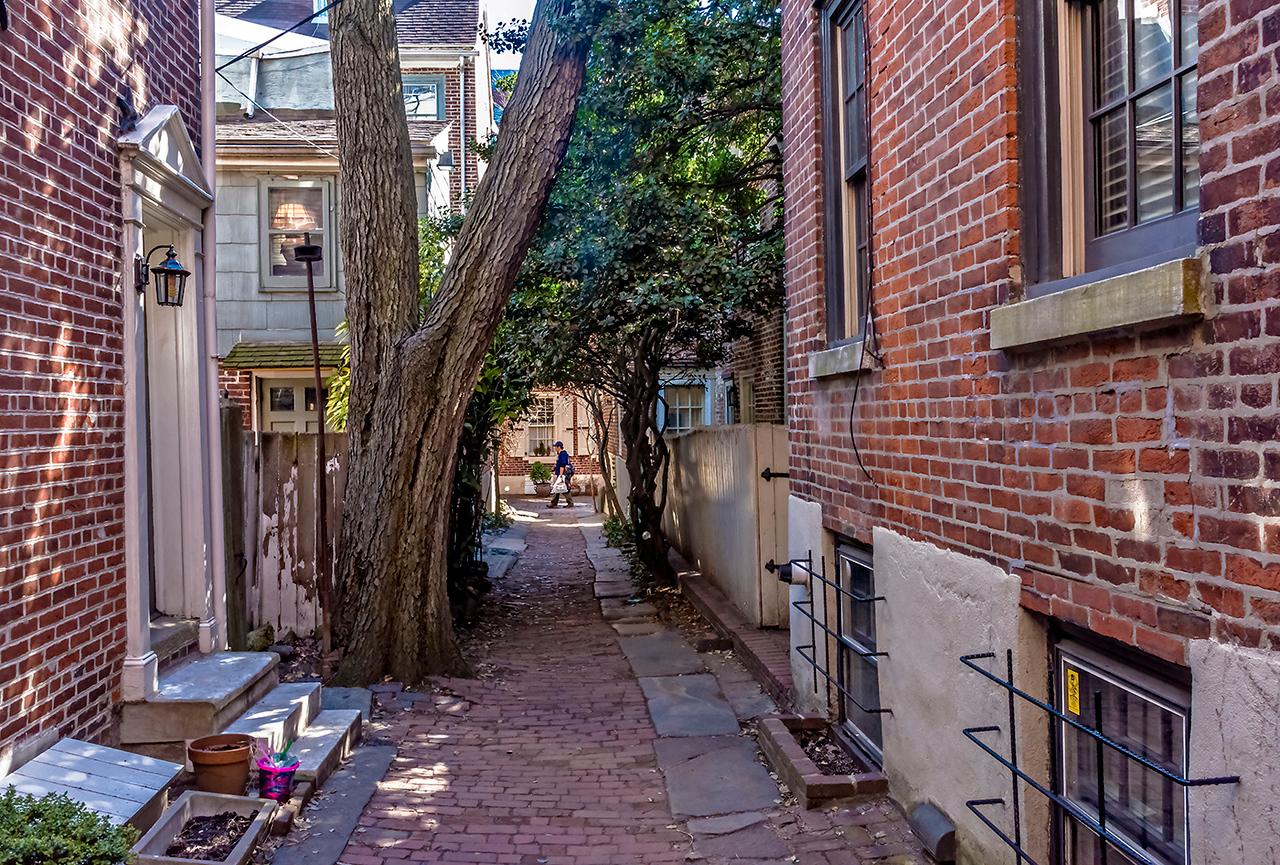 View Toward Elfreth's Alley