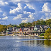 Boathouse Row, Schuylkill River View