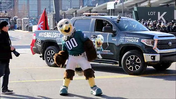 Philadelphia Eagles Super Bowl LII Parade