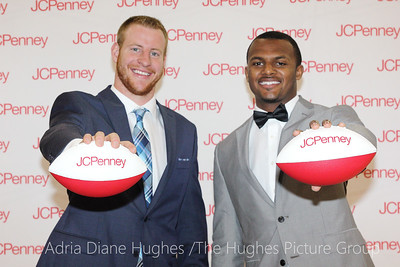 Philadelphia Eagles Carson Wentz & Top NFL Quarterback Prospect, Deshuan Watson Teams UP with JCPenny and the Y Achievers to Help Local Teens Suit Up for Success