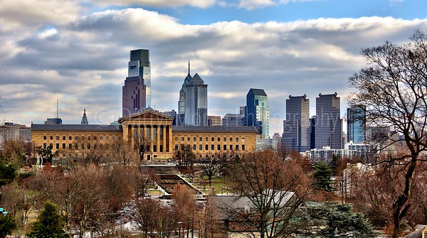Philadelphia Skyline Museum of Art