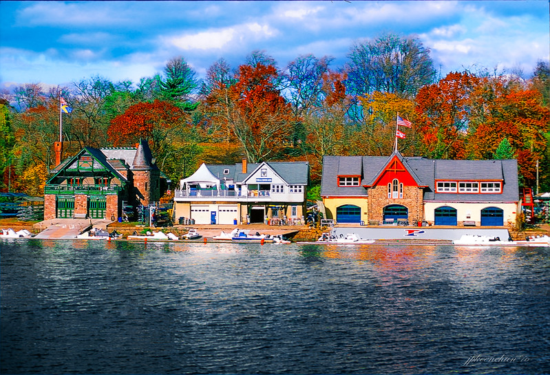 BOATHOUSE ROW - PHILADELPHIA PA,  NOVEMBER 2016