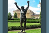 The Rocky Statue at the Museum of Art in Philadelphia