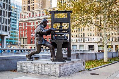 Benjamin Franklin - Craftsman, Philadelphia, PA