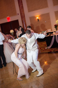 Amber and Rob get married at the Merion