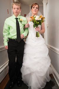 Mary Jo's and Bryan's wedding