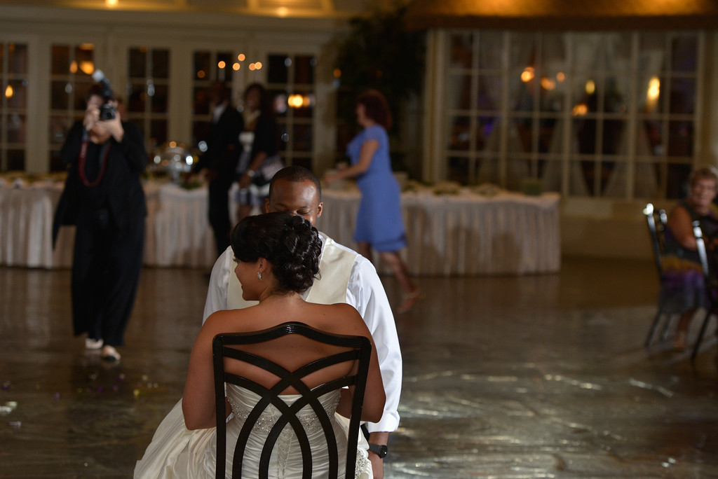 Phylicia and Earl's wedding