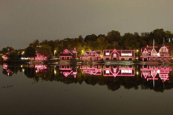 Boathouse Row - Philadelphia, PA - 4-4-11