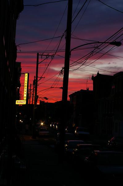 Fishtown Market at Sunset
