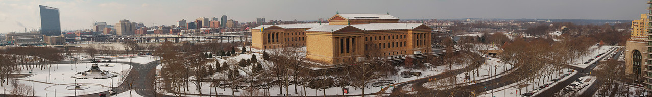Panoramic of Philadelphia