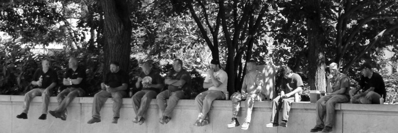 LunchTime in Love Park