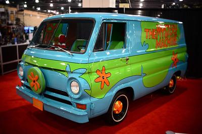 Philadelphia Auto Show--Scooby Doo