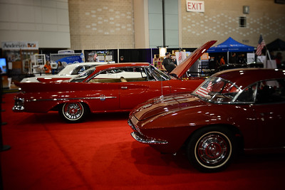 Philadelphia Auto Show--Chrysler 300 & Chevy Corvette