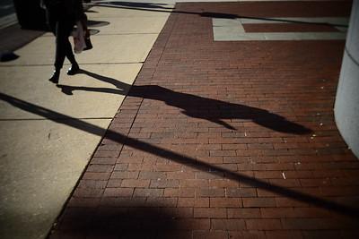Walking Silhouette---Philadelphia, PA