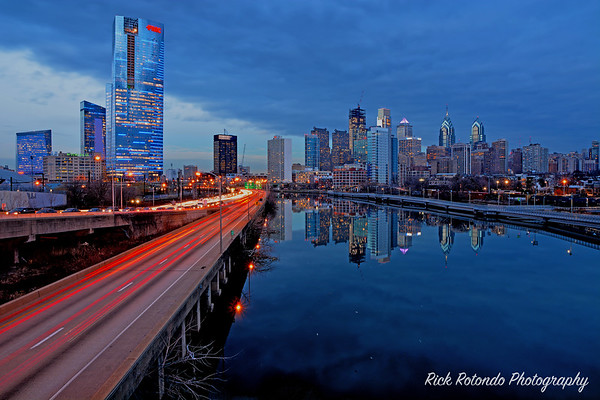 Philly Evening - Blue Hour