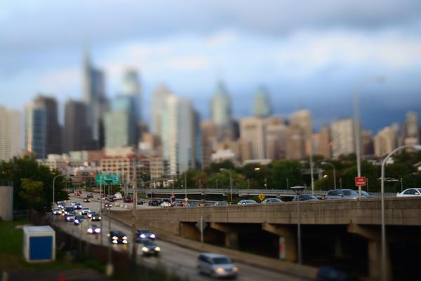 City Skyline---Philadelphia, PA