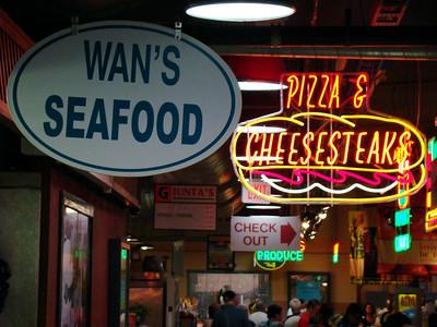 Wan's Seafood in Reading Terminal