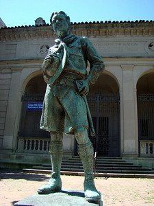 Boy Scouts of America statue in Philadelphia, PA