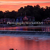 Orange Boathouse Row