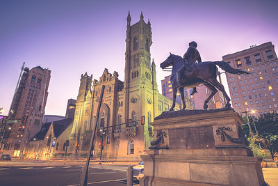 Soldier on Horse Statue Philadelphia