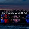 Boathouse Row Panorama at Dusk