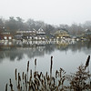 Foggy Boathouse Row