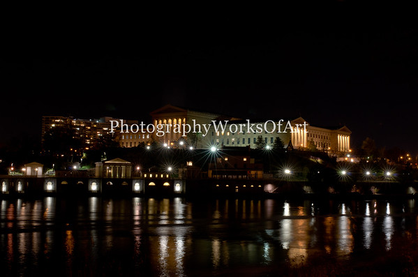 Philadelphia Museum of Art and The Waterworks
