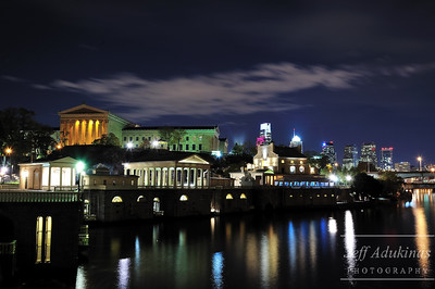 The Waterworks, Art Museum and Center City