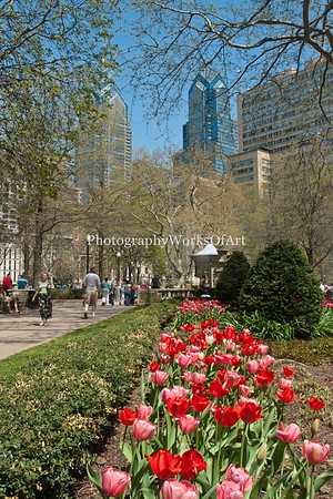 Springtime in Rittenhouse Square