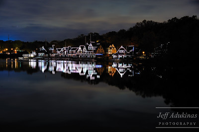 Boat House Row Reflections