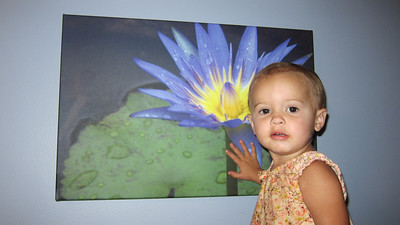 Lily with my lily