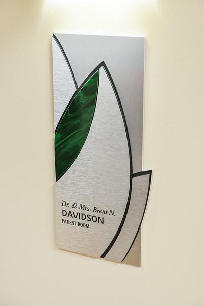 Dr. & Mrs. Davidson Plaque