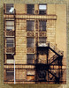 Artist: Chris Lopez<br /> Title: Fire Escape<br /> Medium: Photography