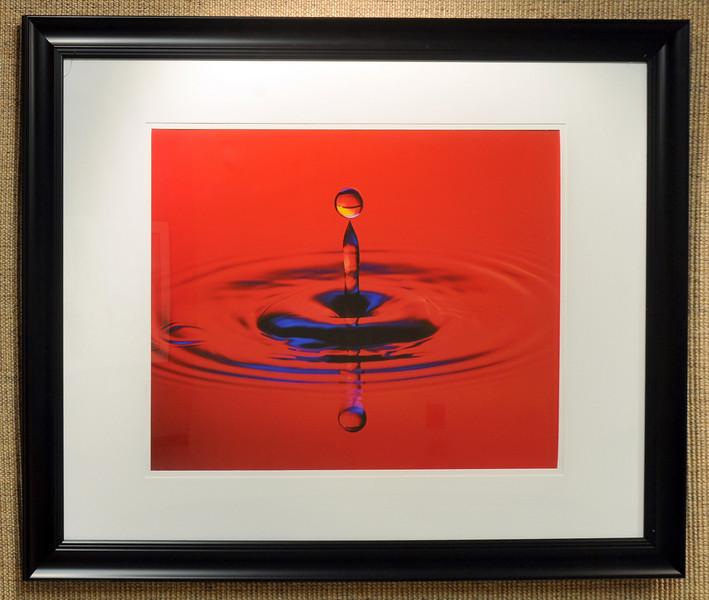 Artist: Eugen Muntean<br /> Title: Frozen Water<br /> Medium: Macro Photography
