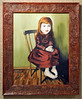 Artist:  Rana Lee Adawi Awdish M.D.<br /> Title: Seated<br /> Medium: Oil on Canvas