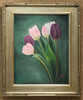 Artist: Larissa Nikoriak<br /> Title: Spring Tulips<br /> Medium: Oil on Canvas