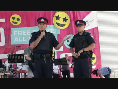 04 Welcoming the representatives from Peel Police