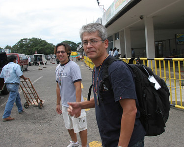 Fred on his first mission to the Philippines.