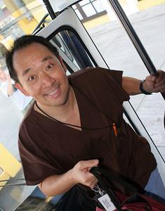 Chuck Kim, urologist, a newbie.