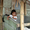 toddler playing at home next to sugarcane