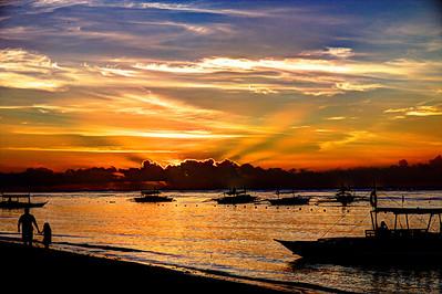 Sunrise, Alona Beach