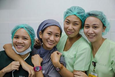 KBK recovery room nurses.
