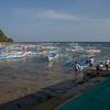 The dock at Sabang Bay.
