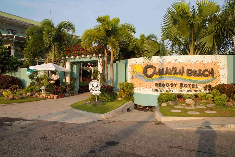 Resort Camayan, Subic Bay.